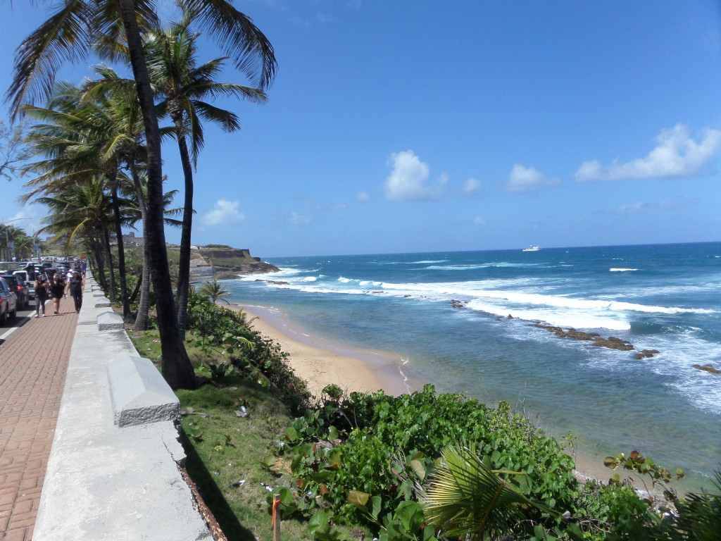 Strand von San Juan, Puerto Rico