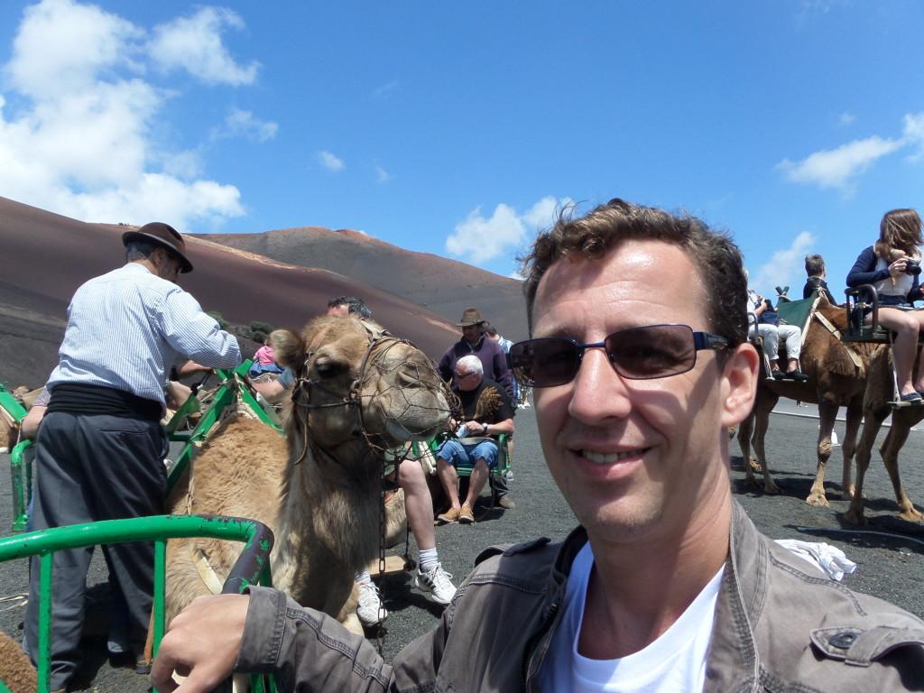 Nur zum Verständnis - das Kamel ist links!