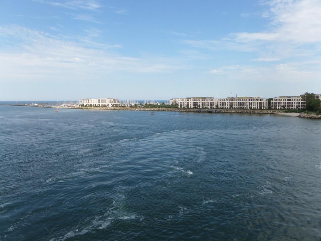 Hafeneinfahrt Warnemünde