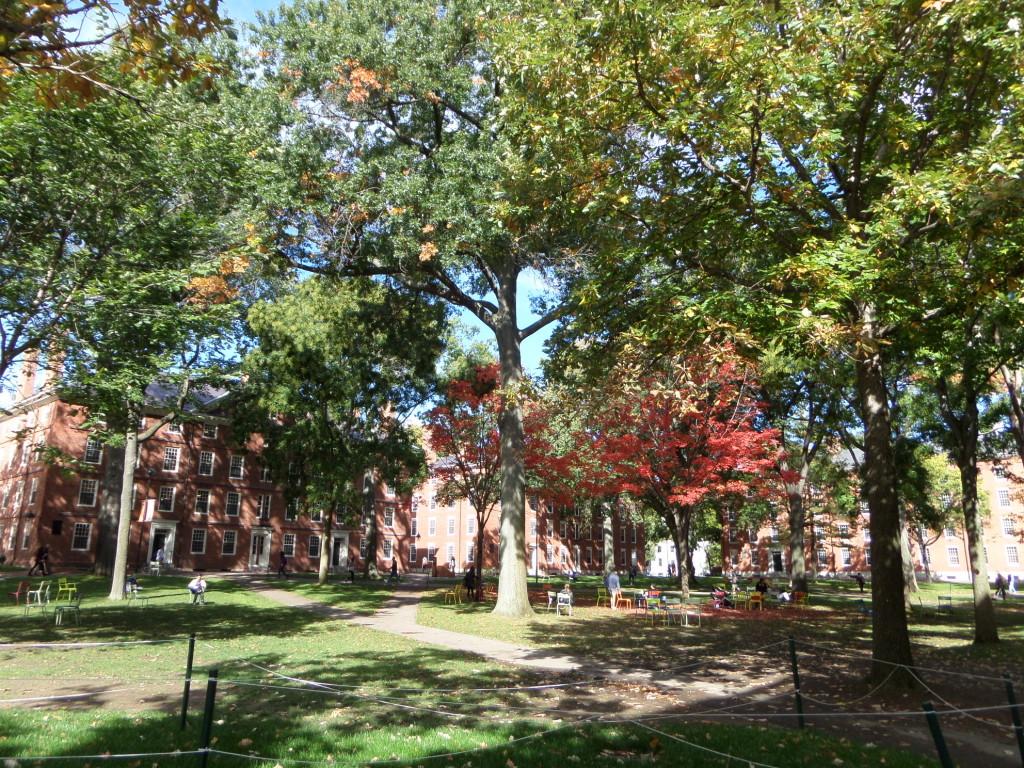 Campus der Harvard Universität, Boston, Massachusetts