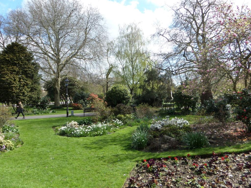Gaaaanz langsam wird es Frühling in Southampton
