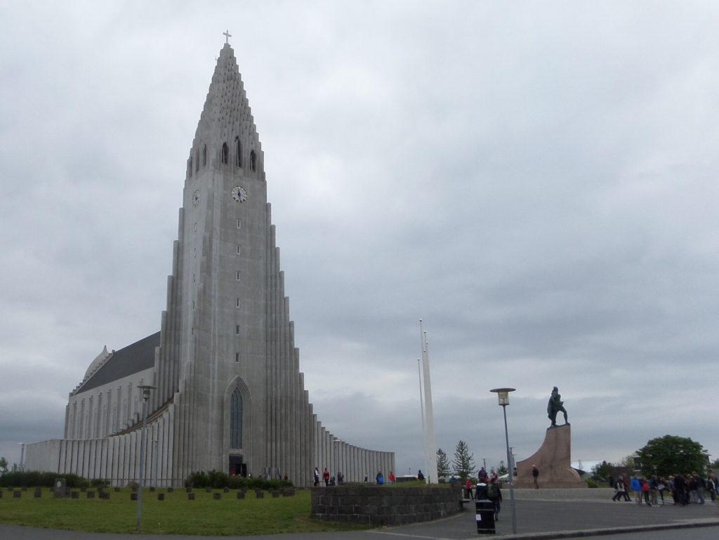 Halgrimskirche von Reykjavik