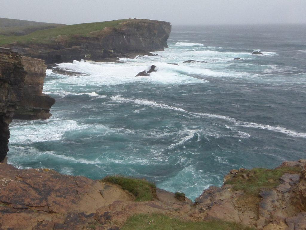 Klippen von Yesnaby, Orkney Inseln, Schottland