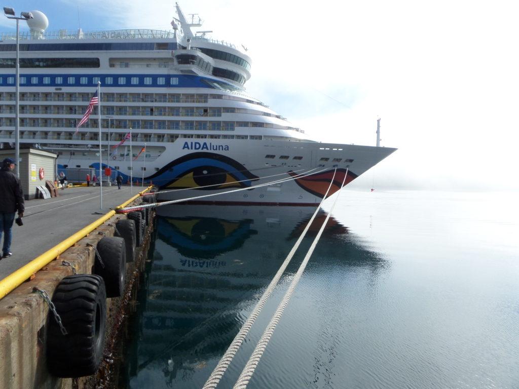 Aida Luna, das schnellste Schiff der Flotte
