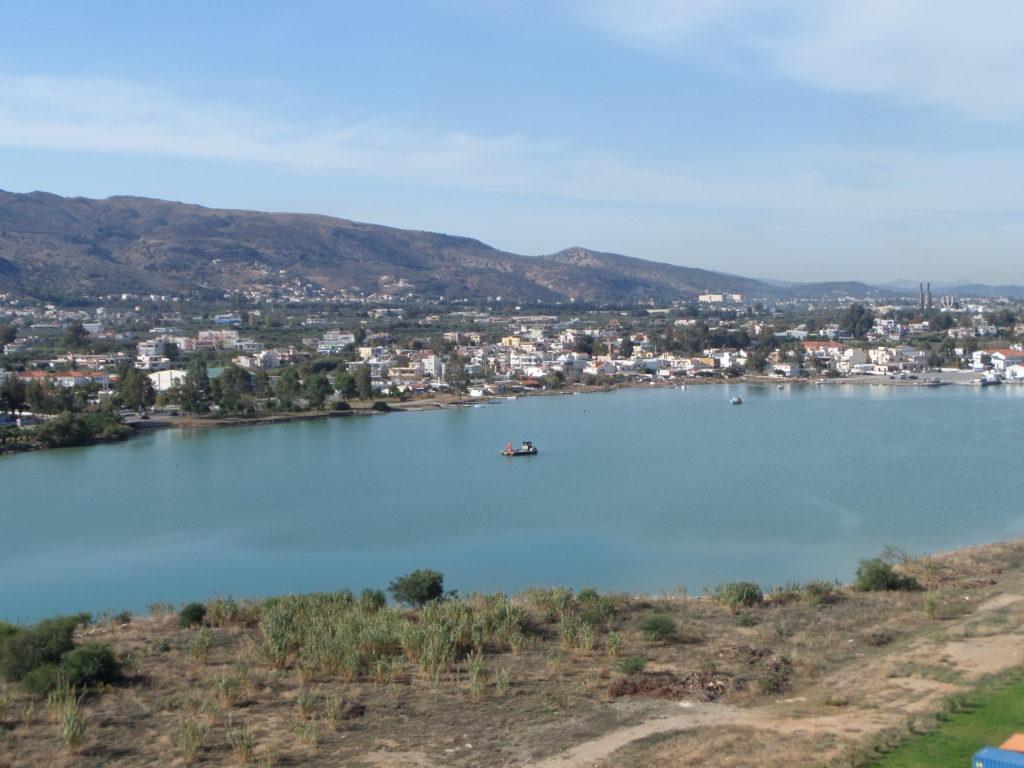 Hafen von Chania, Souda Bay, Kreta, Griechenland
