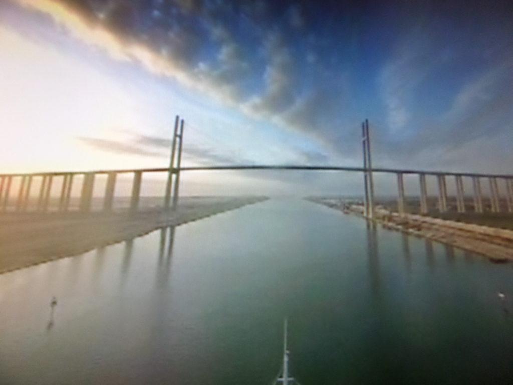 Große Suezkanal Brücke