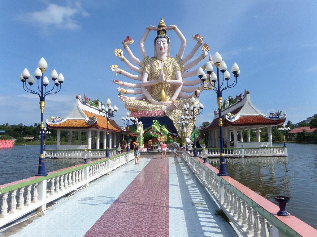 Tempelanlage und Kloster War Sumret auf Koh Samui